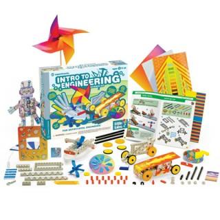 Introdução à Engenharia,  Mini Laboratório 25 Experimentos, Kit Educacional Thames & Kosmos