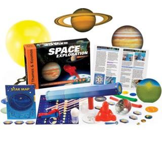 Exploração do Espaço, Kit Ciência 22 Experimentos, kit Astronomia, Faça um telescopio