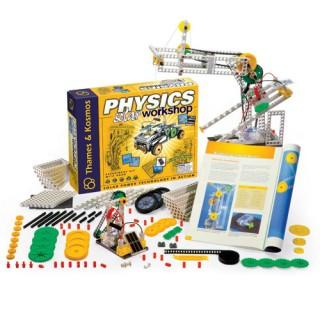 Oficina da Física Solar, Thames Kosmos Educativo, 30 experimentos, 320pçs, 12 modelos