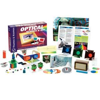 Óptica, Ciência e Arte. Kit Educativo 24 Experiencias com Ilusão de Ótica e Ciências 8+