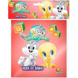Livrinho de banho pode molhar: Perninha e Piu-Piu; Baby Looney Tunes: Hora do Banho