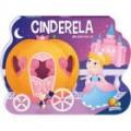 Um livro pop-up de contos: Cinderela, habilidades de leitura, estímulo visual, desenvolve a imaginação, +3