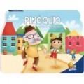 Um livro pop-up de contos: O Pinóquio, habilidades de leitura, estímulo visual, desenvolve a imaginação, +3