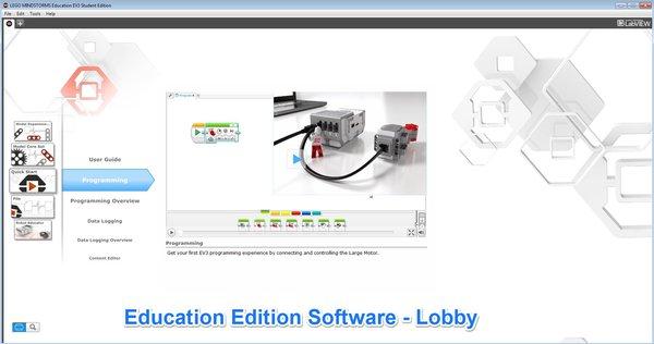 Software EV3 Education (pago) vs EV3 software Home (free)